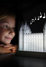 Tiny 3D Temples London Temple - Families can be together forever