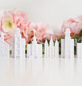 Tiny 3D Temples Preston Temple Magnet