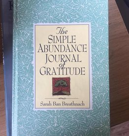 Warner Books ***PRELOVED/SECOND HAND*** The Simple Abundance Journal of Gratitude, Breathnach