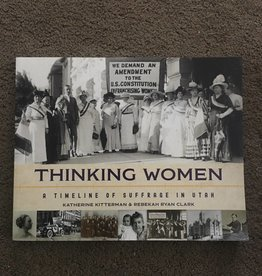 ***PRELOVED/SECOND HAND*** Thinking Women, A timeline of suffrage in Utah, Kitterman & Clark