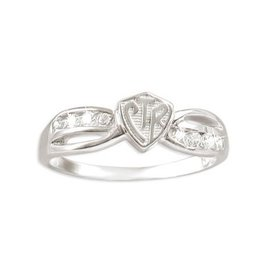 CTR Bow Plain Ring