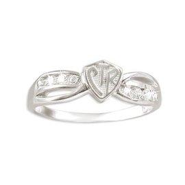 CTR Bow Plain Ring