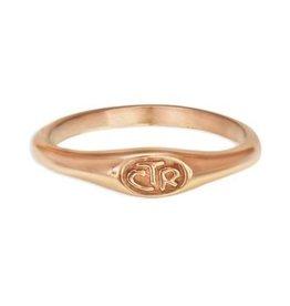 CTR Micro Mini Rose Gold Ring