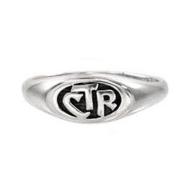 CTR Allegro Antiqued Ring