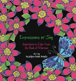 walnut springs press ***PRELOVED/SECOND HAND*** Expressions of Joy, Inspirations to colour from the Book of Mormon, Broyles