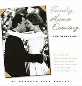 Aspen Books ***PRELOVED/SECOND HAND*** Family home evening- For newlyweds, Rowley