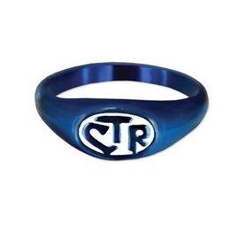 CTR Allegro Blue & White Ring