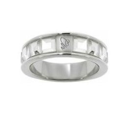 CTR Glimmer Ring With White CZ Stones