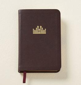 Distribution- Online Hymns: Pocket Size, Genuine Leather BURGANDY