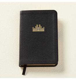 Hymns: Pocket Size, Genuine Leather BLACK