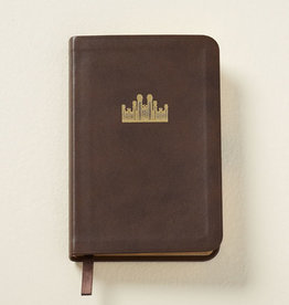 Distribution- Online Hymns: Pocket Size, Genuine Leather BROWN