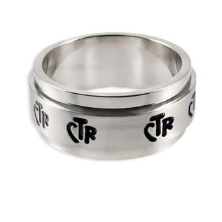 CTR Wide Spinner Ring