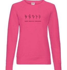 Grow positive thoughts sweatshirt