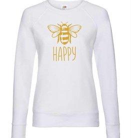 """Bee"" Happy Sweatshirt"