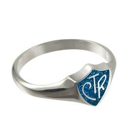 CTR Classic Regular Blue Sparkle Ring