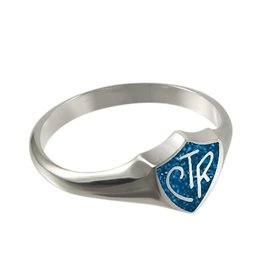 CTR Classic Regular Blue Sparkle Ring