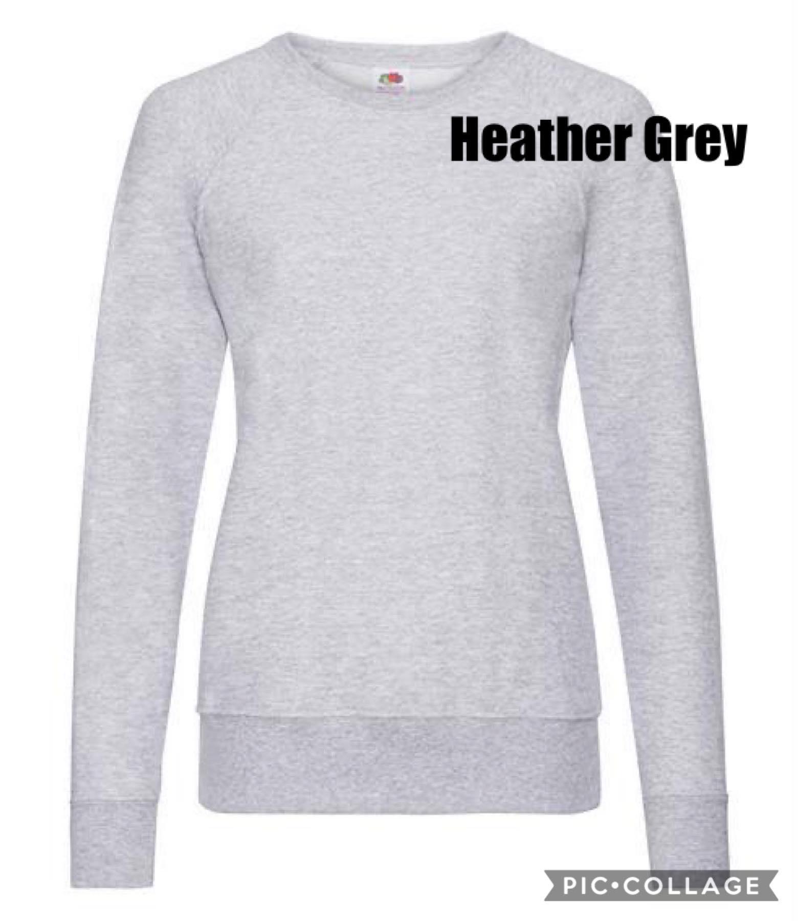 Be the light sweatshirt