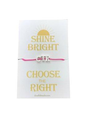 Pink CTR Bracelet Small