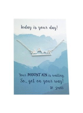 Today is your day Necklace (Mountains)