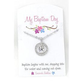 Cedar Fort Publishing Swarovski Crystal Baptism Necklace