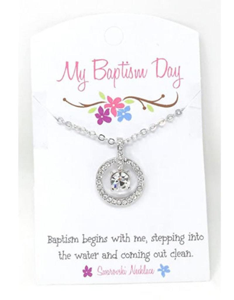 Swarovski Crystal Baptism Necklace