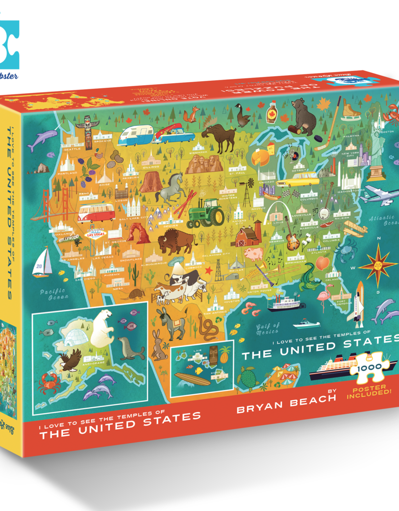 US Temple Map Puzzle in store end of July 2020
