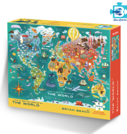 Blue Lobster World Temple Map Puzzle - preorder for July 2020