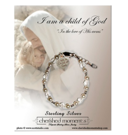 Cherished moments I Am A Child Of God Bracelet