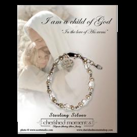 Cherished moments I Am A Child Of God Bracelet