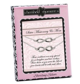 Cherished moments Sister missionary & Mom necklaces