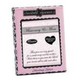 Elder missionary & mom pin set