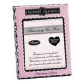 Cherished moments Elder missionary & mom pin set