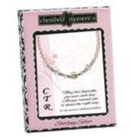 Cherished moments CTR Bracelet, sterling silver, pink pearl