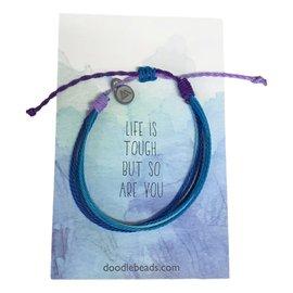 Life is Tough Bracelet