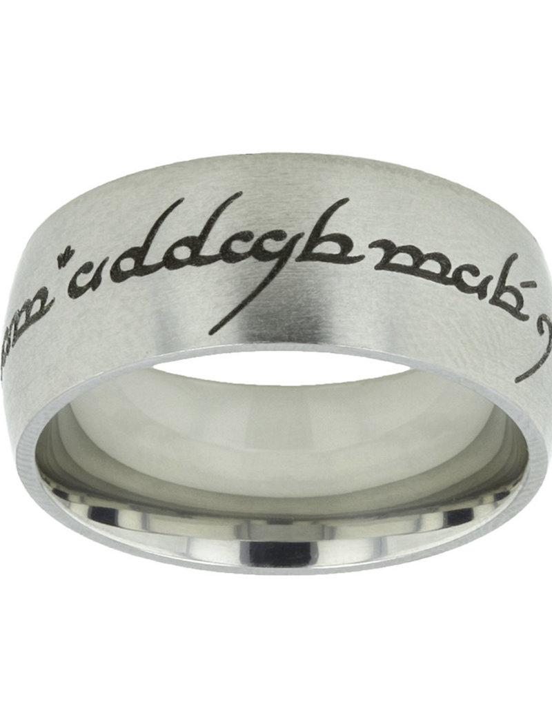 Ldsbookstore Elvish Choose the Right Ring - Wide