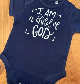 I am a child of God baby vest box