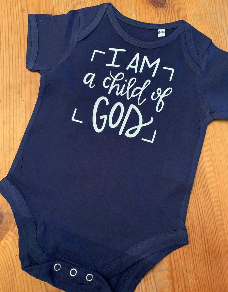 I am a child of God baby vest box