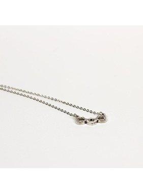 Triple CTR Shield Necklace