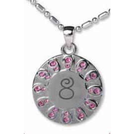 Cedar Fort Publishing Baptism 8 necklace (pink)