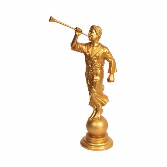 "15"" Angel Moroni statue"