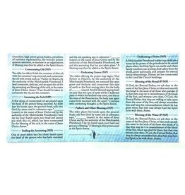 Priesthood Ordinance Card