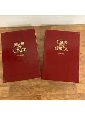 ***PRELOVED/SECOND HAND*** Jesus the Christ, James Talmage COVER MAY VARY