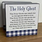 Deseret Book Company (DB) The Holy Ghost (5x5 Plaque)