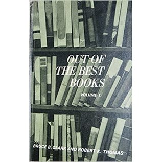 Deseret Book Company (DB) ***PRELOVED/SECOND HAND*** Out of the best books, Volume one, Clark & Thomas