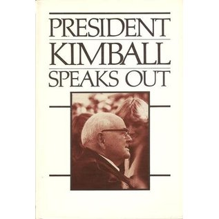 Deseret Book Company (DB) ***PRELOVED/SECOND HAND*** President Kimball speaks out, Kimball