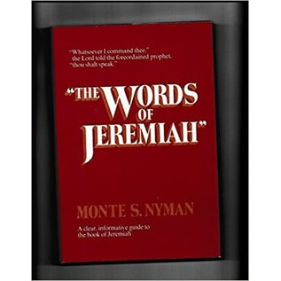 "***PRELOVED/SECOND HAND*** ""The words of Jeremiah"", Nyman"