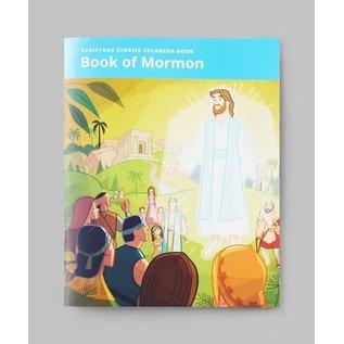 Church Distribution Scripture Stories Coloring Book: Book of Mormon