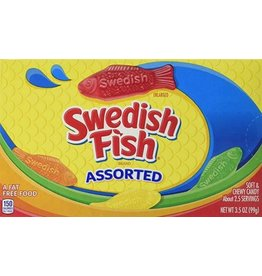Assorted Swedish Soft & Chewy Fish Candy Boxes, 3.1 oz