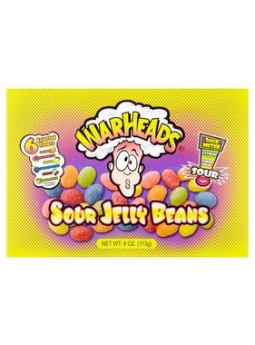 Sour Jelly Beans Warheads