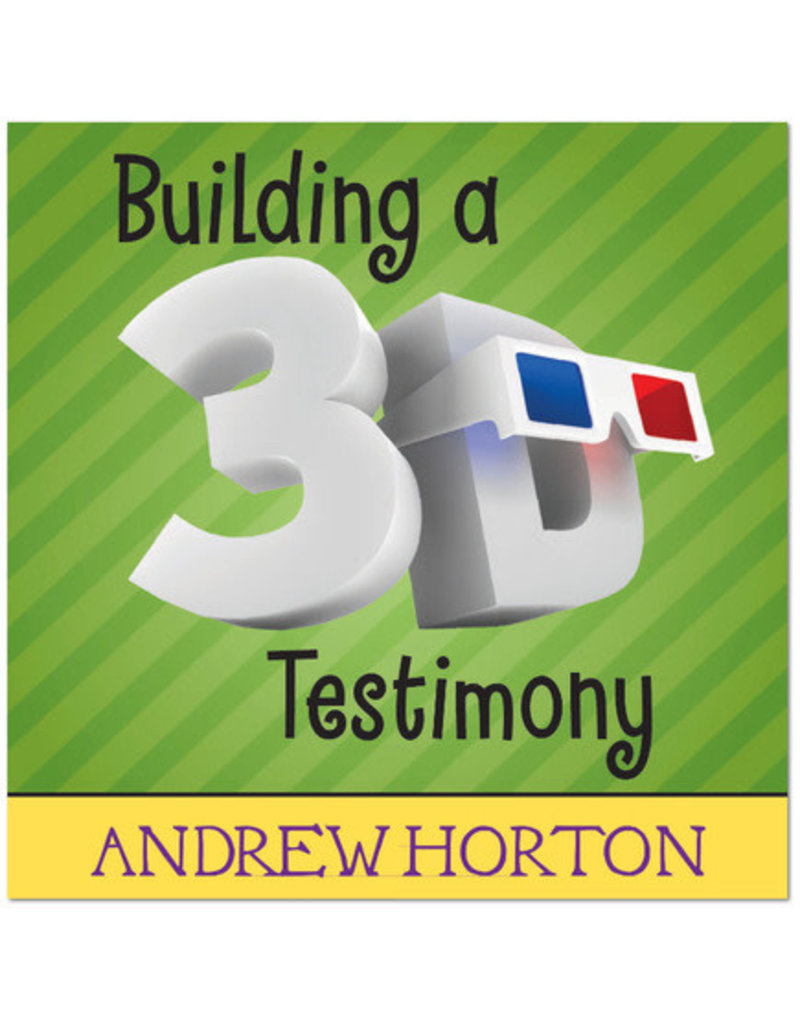 Building a 3D testimony Horton